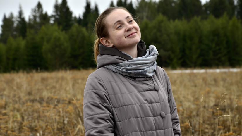 Ирина Чернега о своём переезде на Урал и ископаемом слоне