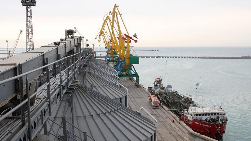 повлияет ли казахстанский транзит грузов США на переговоры о статусе Каспия»