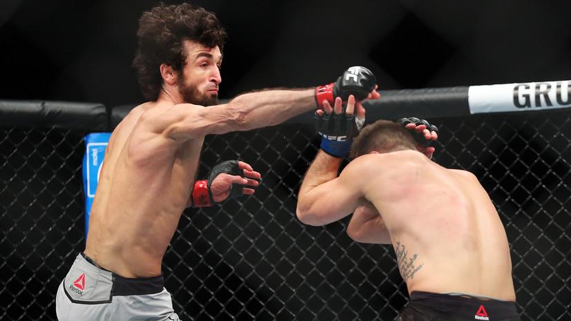 Боец Магомедшарипов о поединках в США, турнире UFC в Москве и травмах