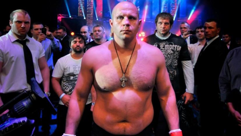 Емельяненко нокаутировал Мира в турнире Bellator в первом раунде