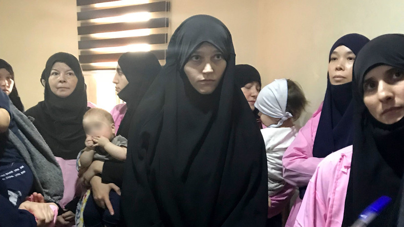 «Их детей вывезут в РФ»: в Ираке 19 россиянок приговорены к пожизненному заключению за связи с ИГ