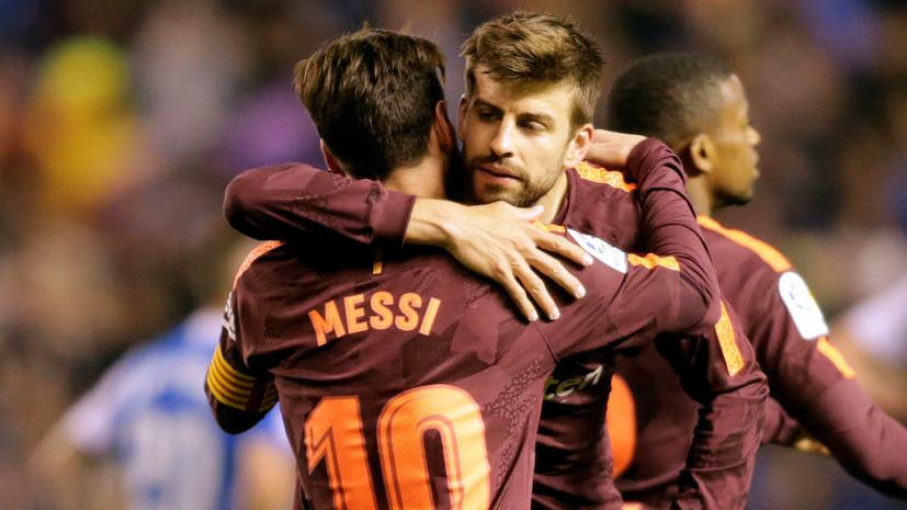 Чемпионство «Барселоны», матч года в Италии и прощание Венгера с Манчестером: итоги футбольных выходных в Европе