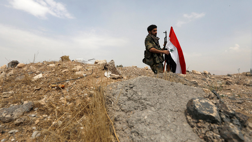 «Вражеские ракеты»: в Сирии сообщили о новой атаке на правительственные силы