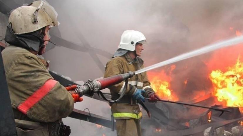 На судне у пирса в Петропавловске-Камчатском произошёл пожар