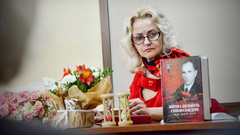 Экс-депутат Рады назвала русскоязычных граждан умственно отсталыми