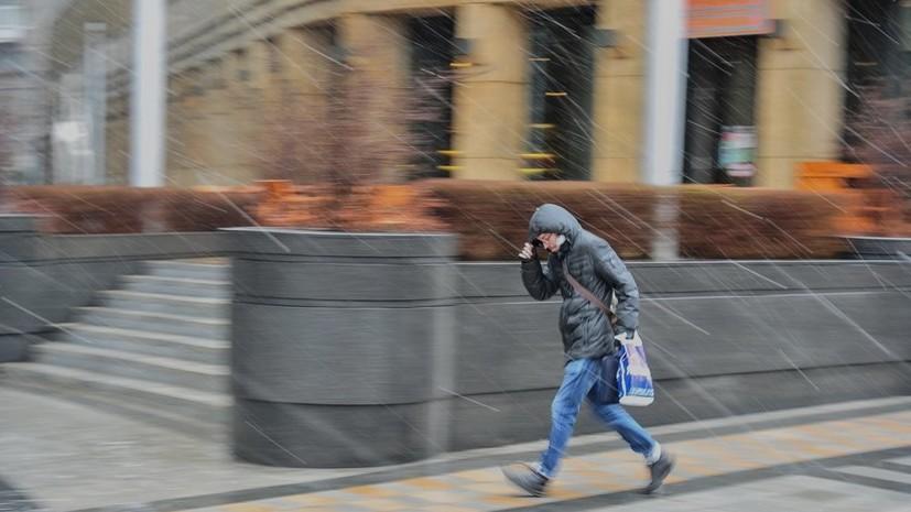 МЧС объявило экстренное предупреждение в Москве из-за грозы и ветра