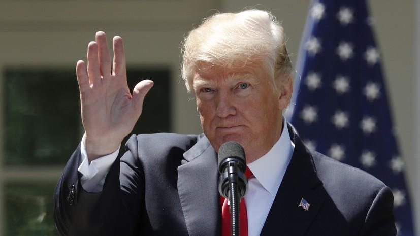 Трамп не исключил, что может встретиться с Ким Чен Ыном в Сингапуре