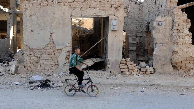 Боевики обстреляли Хомс, погибли два человека