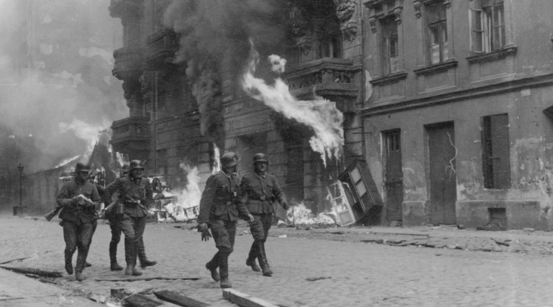 Как сражались и погибали восставшие в Варшавском гетто