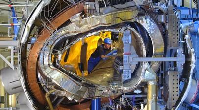 Внутренности термоядерного реактора