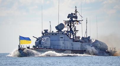 Украинский патрульный катер
