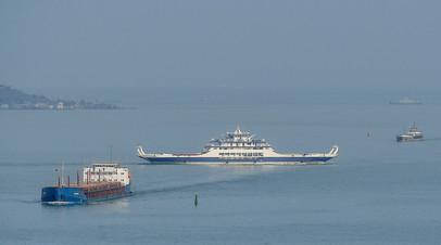 Корабли в Керченском проливе