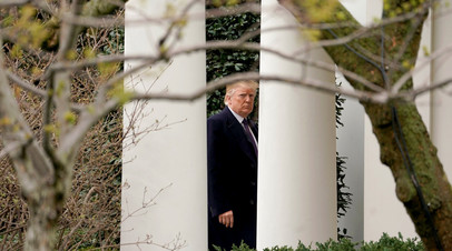Дональд Трамп в Белом доме