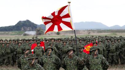 Японские солдаты морской пехоты