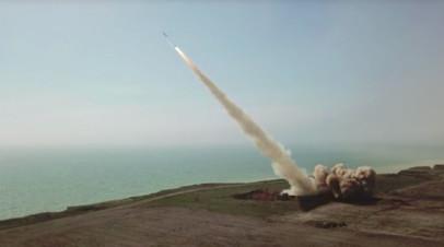 Испытания украинского ракетного комплекса «Ольха»