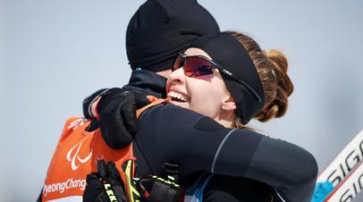 Российская паралимпийская спортсменка Михалина Лысова