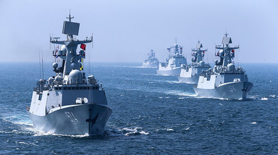 Корабли военного флота КНР