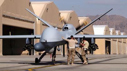 Разведывательно-ударный БПЛА MQ-9 Reaper