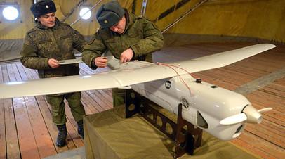 Беспилотный летательный аппарат (БПЛА) «Орлан-10»