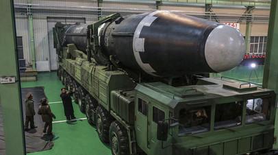 В Кремле прокомментировали отказ КНДР от ядерных испытаний