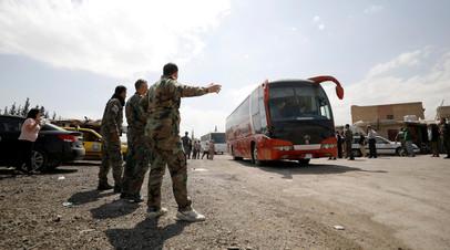 Минобороны: более 1 тысячи боевиков и членов их семей выведены за сутки из Восточного Каламуна
