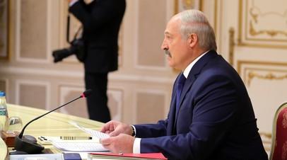 Лукашенко рассказал, как убивали людей на трассе Москва — Берлин