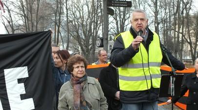 Россия призвала Латвию освободить лидера Штаба защиты русских школ