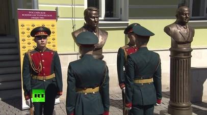 Бронзовый Борис Ельцин появился на «Аллее правителей»