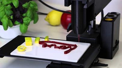 «Умная» еда: как 3D-принтеры для печати продуктов помогут соблюдать здоровую диету
