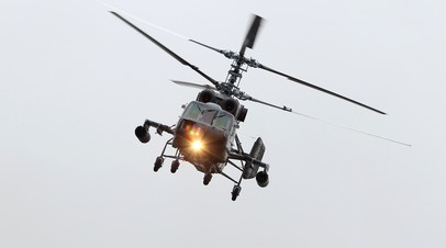 Источник сообщил об обнаружении в Балтийском море потерпевшего крушение вертолёта Ка-29