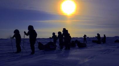 Впервые в истории: евро-арабская женская экспедиция на Северный полюс
