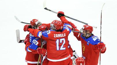 Навстречу Америке: юниорская сборная России по хоккею сыграет с США в четвертьфинале домашнего чемпионата мира