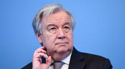 Генсек ООН заявил о намерении заниматься поиском путей политического урегулирования в Сирии