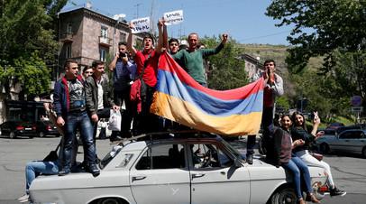 МИД: в Москве надеются, что ситуация в Армении будет развиваться в правовом поле