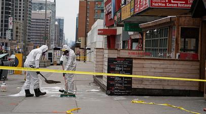 Гражданка России пострадала при наезде автомобиля на людей в Торонто