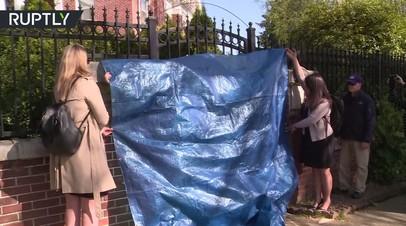 Представители властей США вошли в здание резиденции генконсула России в Сиэтле