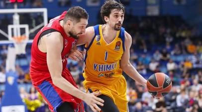 Возрождение интриги: «Химки» отсрочили выход ЦСКА в «Финал четырёх» баскетбольной Евролиги