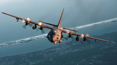 Cамолёт AC-130