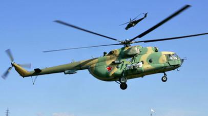 В Алтайском крае совершил аварийную посадку вертолёт Ми-8