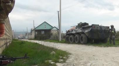 В ФСБ заявили о нейтрализации в Дербенте 11 сторонников ИГ