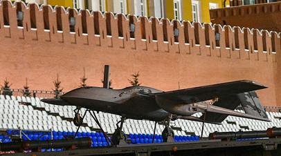 Ударный беспилотный самолет «Корсар»