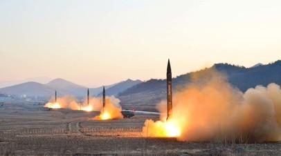 Запуск баллистических ракет, Северная Корея