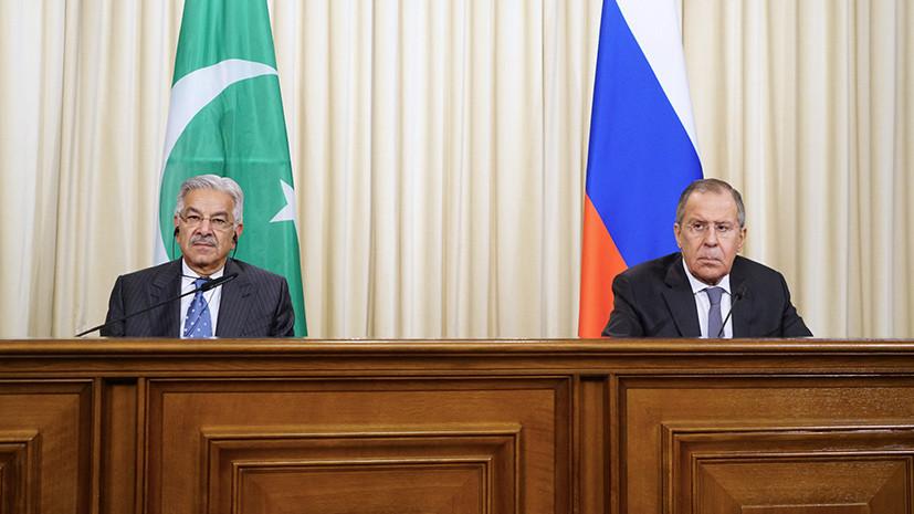 Главы МИД России и Пакистана обменялись посланиями по случаю 70-летия установления дипотношений