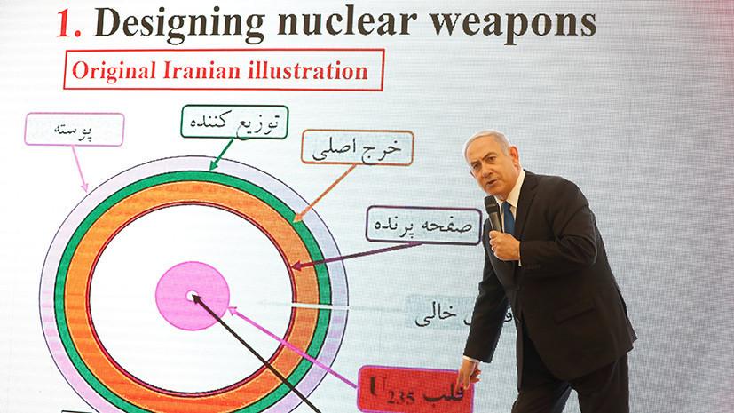 Эксперт предположил, почему Израиль обвинил Иран в ядерных разработках
