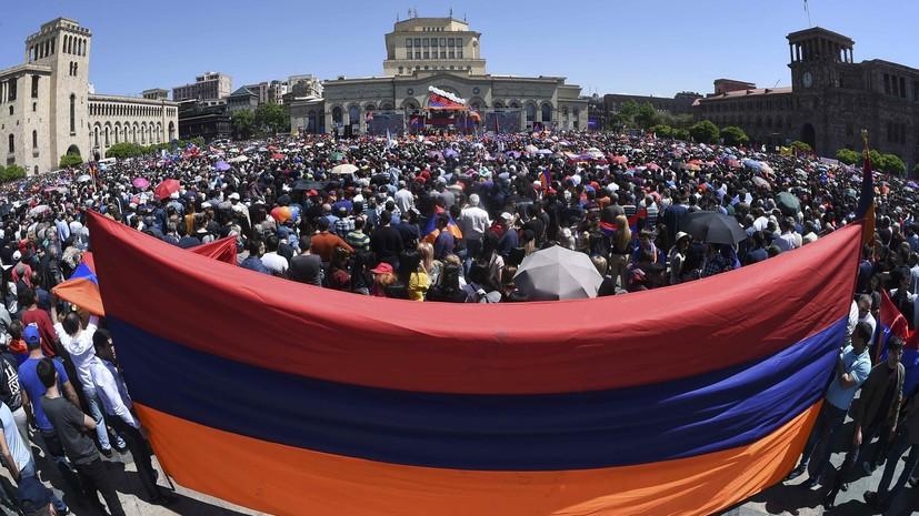 Парламент не смог избрать премьер-министра Армении