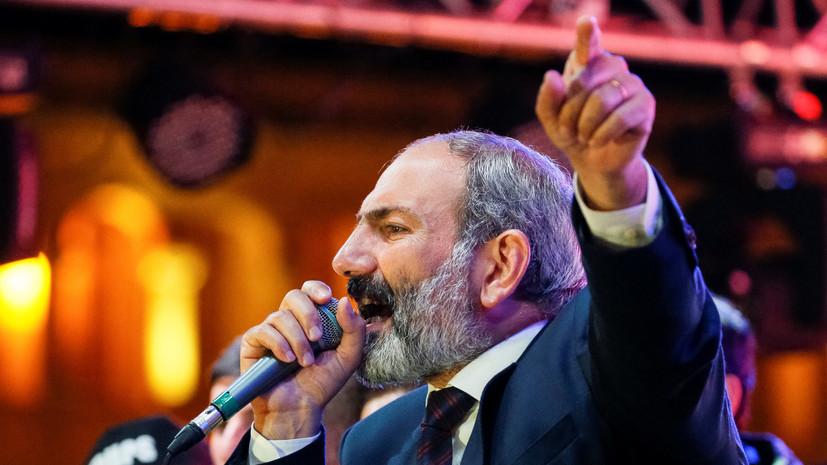 Пашинян вновь выдвинет свою кандидатуру на пост премьера Армении