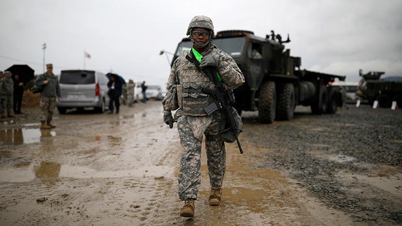 «Вопрос альянса»: президент Южной Кореи исключил возможность вывода из страны войск США