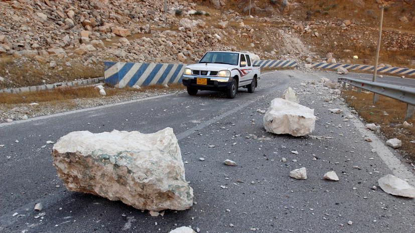 Число пострадавших при землетрясении в Иране достигло 76