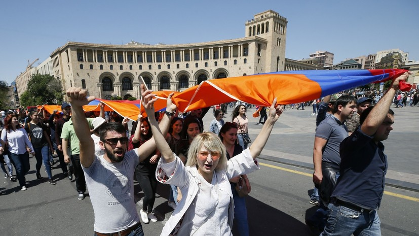 Второй тур выборов премьера Армении пройдёт в парламенте 8 мая