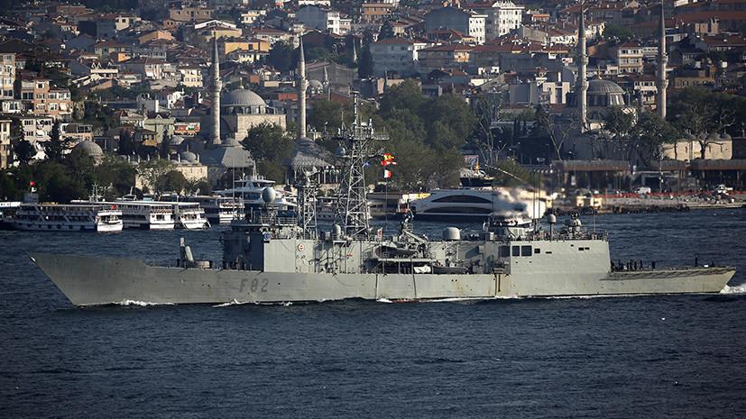 СМИ сообщили о группе кораблей НАТО в Чёрном море